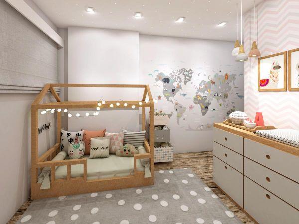Dicas de iluminação para quarto infantil