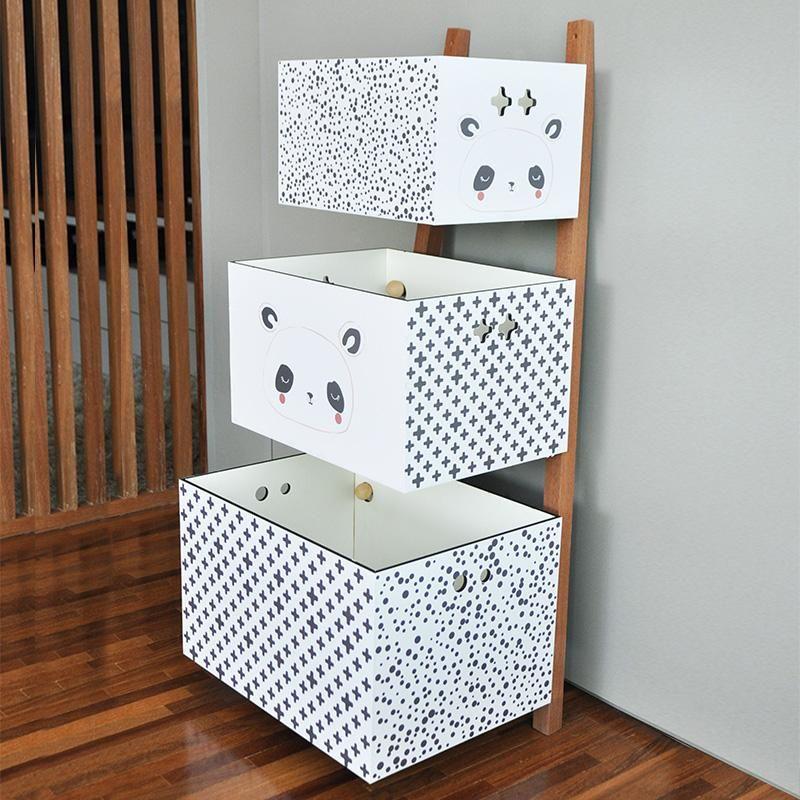 GUARDA BRINQUEDOS TOY BOX - PANDA
